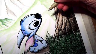 Drawing Stitch - Disneys Lilo And Stitch - FAN ART FRIDAY
