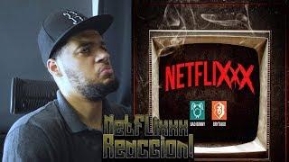 Gambar cover NETFLIXXX (Netflix) - Brytiago Ft. Bad Bunny | Video Oficial reaccion