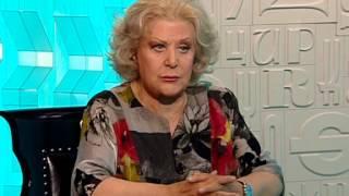 Елена Образцова в передаче Главная Роль на канале Культура