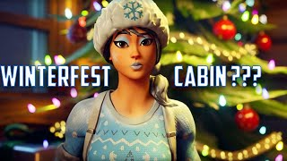 Where Is The Winterfest Cabin in Fortnite