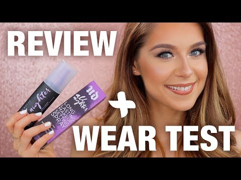 Urban Decay All Nighter Setting Spray Review + Wear Test