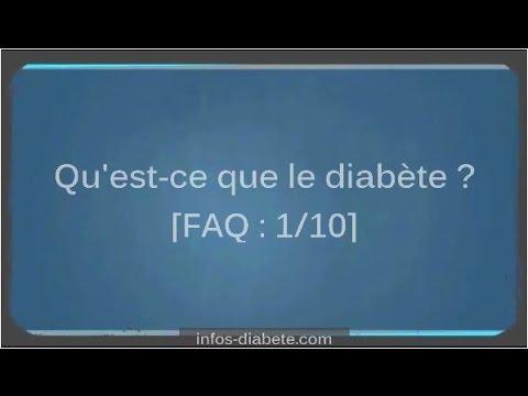 Le taux de sucre dans le sang en moles