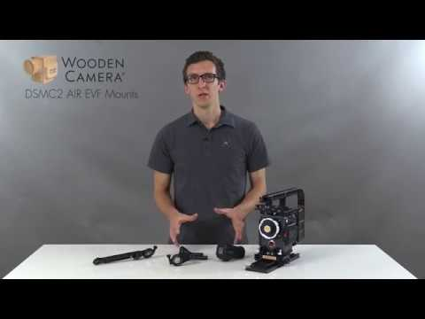 Wooden Camera RED DSMC2 AIR EVF Mounts