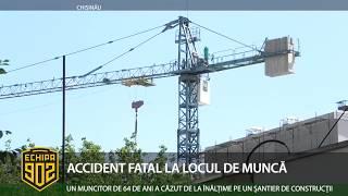 ACCIDENT FATAL LA LOCUL DE MUNCĂ...