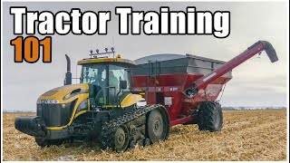 How to Drive a Tractor   Farm Equipment Operator