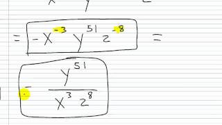 Algebra I Help: Rules of Exponents Practice Set Part II