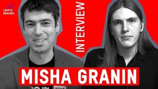 Interview. Misha Granin. NEM Foundation Vice-President candidate.