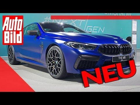 BMW M8 Competition (2019): Neuvorstellung - Motor - Infos
