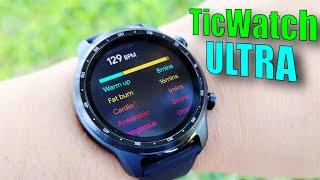 TicWatch Pro 3 Ultra WearOS Smartwatch Review