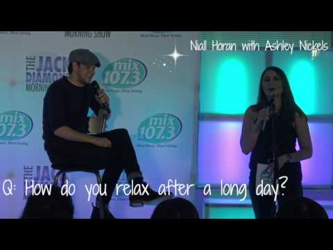 Niall Horan In The Mix107.3 Lounge With Ashley Nickels Mp3