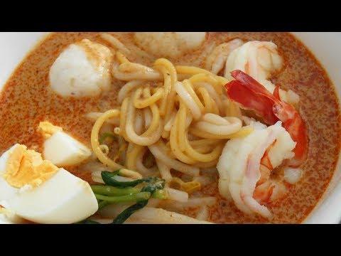 Home-made Laksa (Paste & Noodle Soup) *****