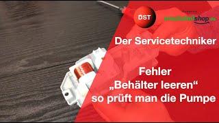 Der servicetechniker wichtig! fehler e 19 siemens bosch neff