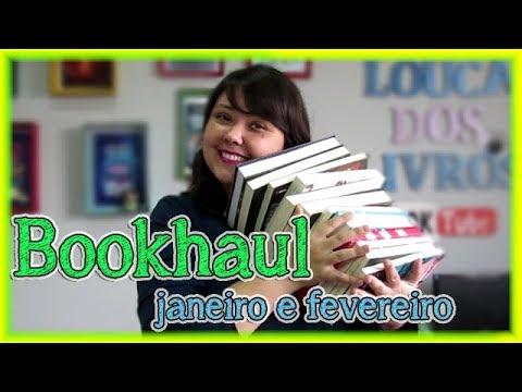 Bookhaul de Janeiro e Fevereiro - livros novos na estante | Louca dos livros 2018