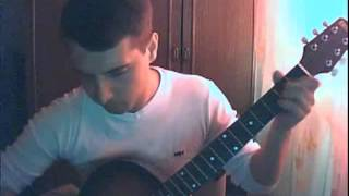 Парень очень круто спел песню про любовь под гитару!!!