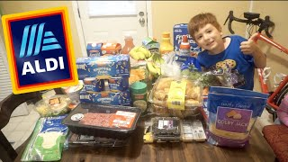 ALDI GROCERY HAUL FOR A FAMILY OF 4!