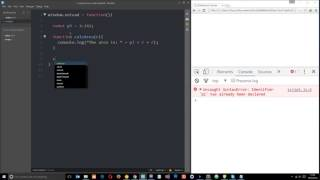 JavaScript ES6 Tutorial #2 - Constants