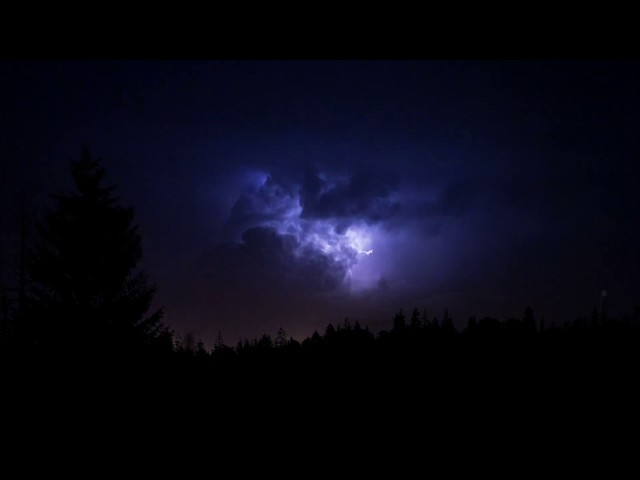 Heavy Thunderstorm Sounds   Relaxing Rain, Thunder & Lightning Ambience for Sleep   HD Nature Video