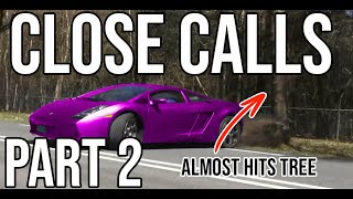 INSANE CLOSE CALL COMPILATION (PART 2) (NEAR DEATHS, MORE NEAR CRASHES, MORE CRAZY DRIVING)