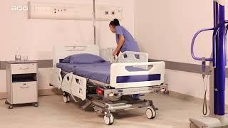 Arjo – Medical Bed - Enterprise 8000X demonstration video