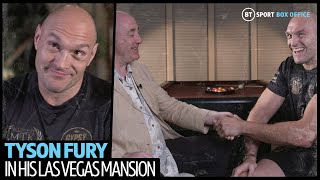 """""""I should have knocked him out in round 10!"""" 12 minutes inside Tyson Fury's Las Vegas mansion"""