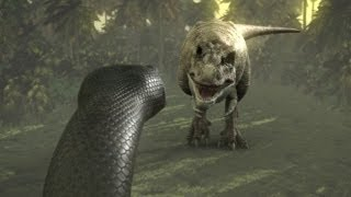 Titanoboa - Hunting Technique