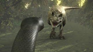 Titanoboa: Monster Snake - Titanoboa Vs. T-Rex