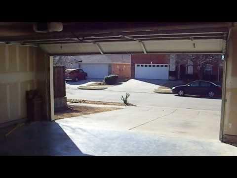 Garage door failure to close