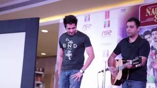 "Ayushmann Khurrana Singing ""Mera Mann"" | Nautanki Saala Music Launch"