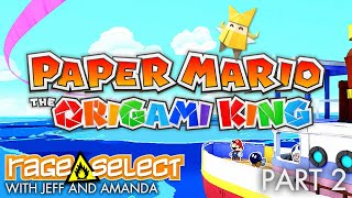 Paper Mario: The Origami King (The Dojo) Let's Play - Part 2