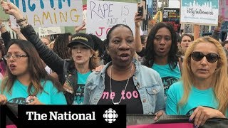 Hundreds march in #MeToo rally