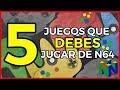 5 Juegos Que Debes Jugar En Nintendo 64 Cl sicos Recome