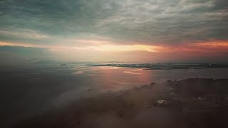 Fog In The Air Tonight FPV Drone Over The Historic Fort Howard Military Base