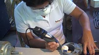 Carving Tagua Figurines Dremel Rotary Tool