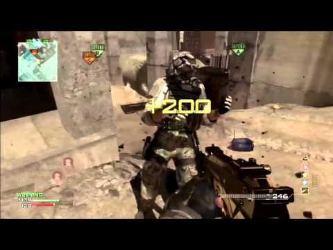 MW3: *SOLO* Triple MOAB w/ MP7 On Hardhat! - смотреть онлайн