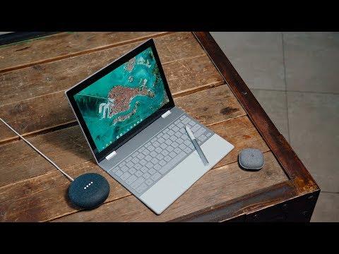 Распаковка Pixelbook, Pixel Buds и Google Home mini