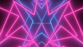 Neon lights animation background video template | neon background effect | Neon Background Video HD