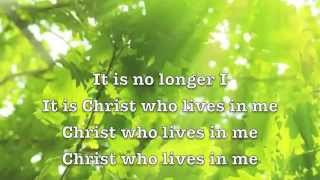 No Longer I (lyrics) Matt Redman