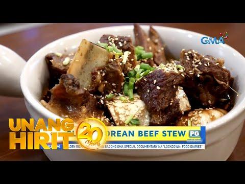 [GMA]  Unang Hirit: Korean Beef Stew ni Suzi Abrera!
