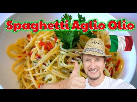 Spaghetti aglio olio peperoncino 🌶🌶🌶 Italien Profi Rezept