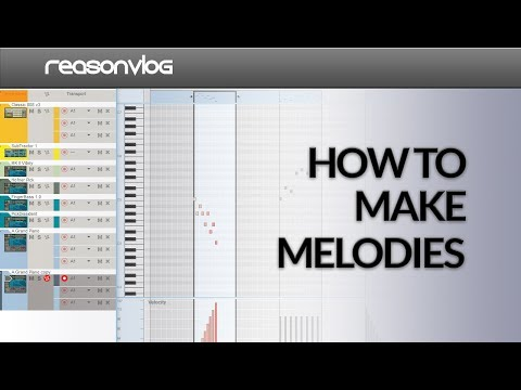 how to make melodies based on a scale in Propellerhead
