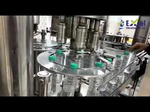 Mineral Water Bottle Filling Machine