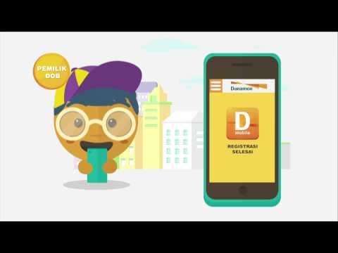 Aktivasi D-Mobile dengan Danamon Online Banking (DOB)
