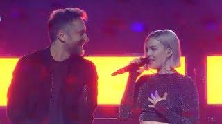 Gambar cover Anne Marie & David Guetta - Don't Leave Me Alone (LOS40 Music Awards 2018)