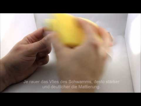 Wie mattiert man einen Ring? DIY How to finish a ring?