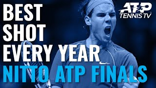 Best Shot From Every Year of the ATP Finals!