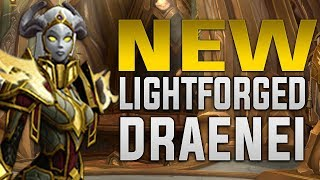 Lightforged Draenei Unlock Scenarios - Azeroth Vindicaar