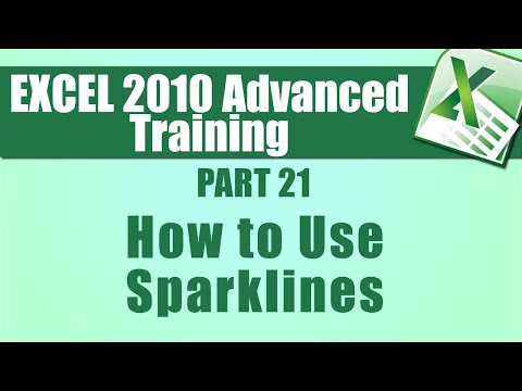 Microsoft Excel 2010 Advanced Training - Part 21 - How to Use ...