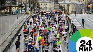 Спортивная феерия: к Московскому марафону присоединилась команда телеканала «МИР» - МИР 24