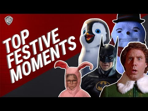 Top Festive Moments | Christmas Films | Warner Bros. UK
