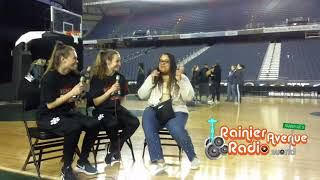 WIAA Hardwood Classic 2019 - RainierAvenueRadio.World pre-tournament interviews 2-26-19